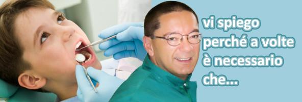 Le estrazione seriate, per motivi ortodontici