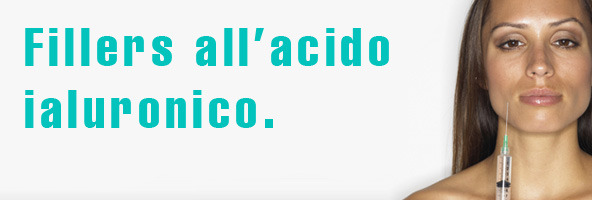 Fillers all'acido ialuronico nell'estetica del viso.