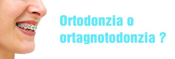 Ortodonzia oppure ortognatodonzia? Ortodonzia: scienza semplice o complessa? Relazioni fra correzione ortodontica e tutti gli altri distretti coinvolti.