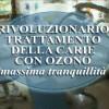 Trattamento della carie tramite ozonoterapia.