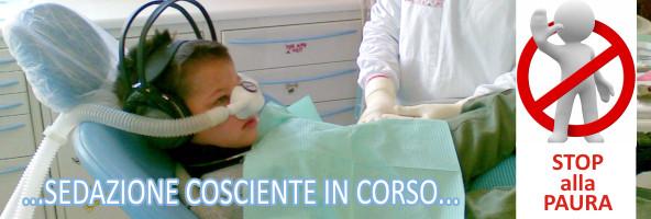 Cura dei denti decidui in sedazione cosciente Come si curano le carie dei denti da latte dei bambini